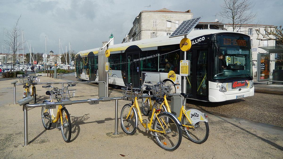 vélo électrique libre service