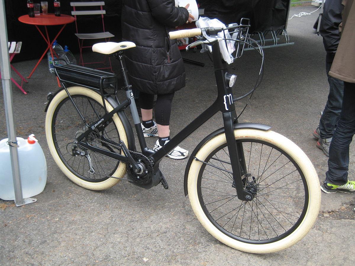 conduire un vélo électrique
