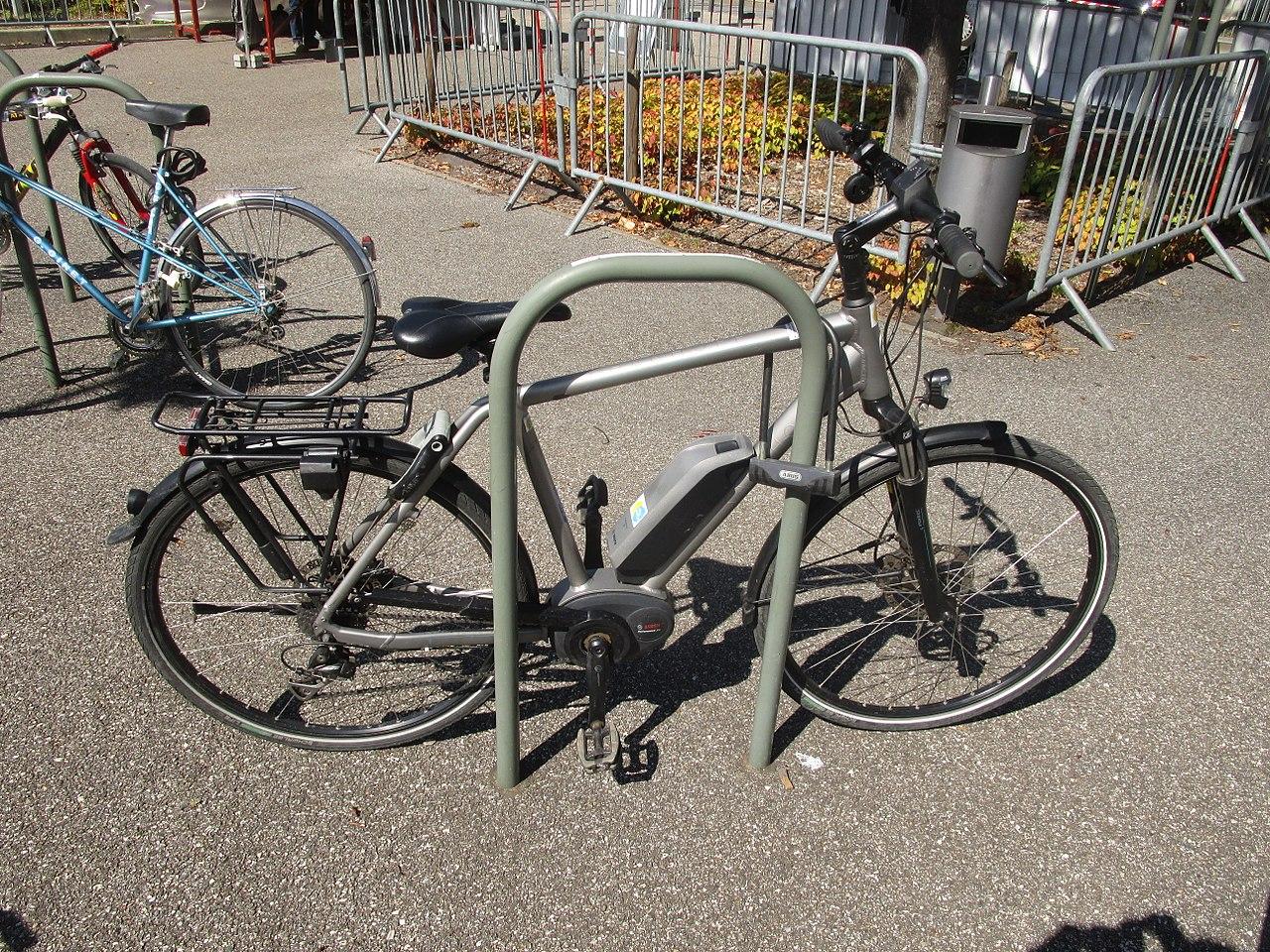principe du vélo électrique